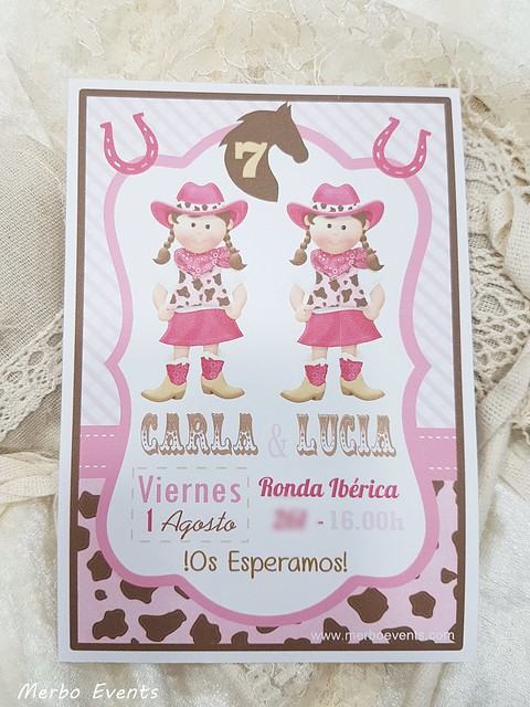 invitacion Fiesta Hípica Merbo Events