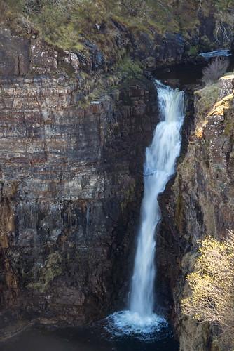 Abhainn An Lethhuillt falls