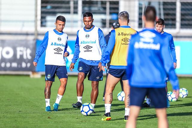 Treino Grêmio 07/06/18