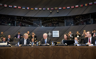 SD, NATO Sec Gen and NATO defense ministers