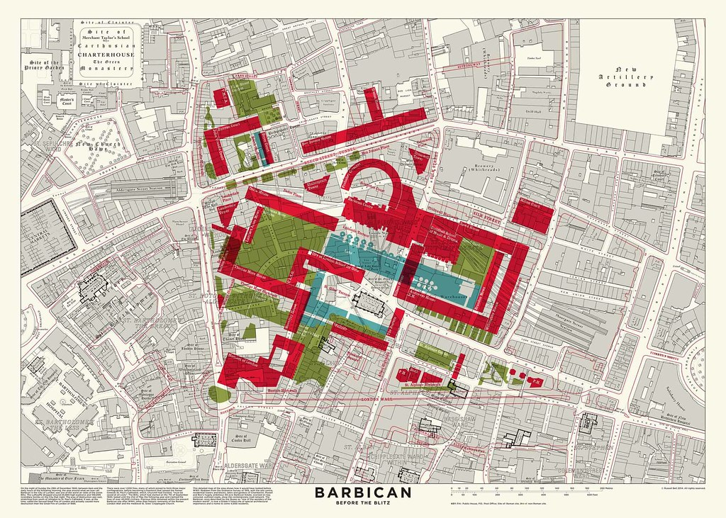 barbican map