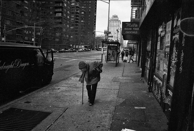 The old lady in NY