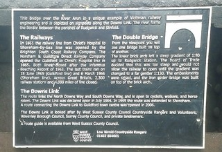 Double Bridge info board