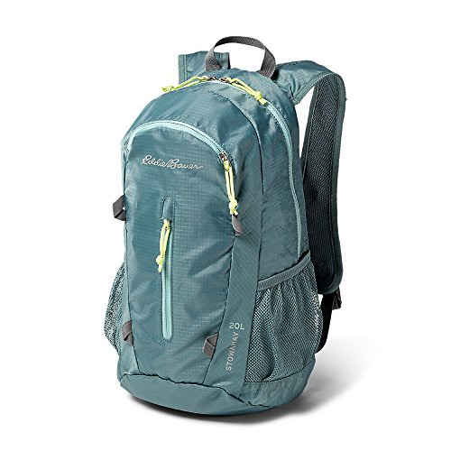 Eddie Bauer Unisex-Adult Stowaway Packable 20L Daypack, Azure ONESZE Review