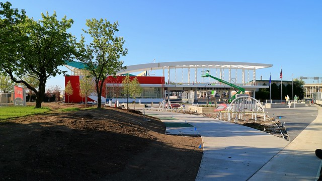 North Gate Construction Work - Summerfest Grounds