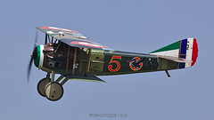 SPAD S XIII C1 / Memorial Flight / F-AZFP | 5 - Photo of Mennecy