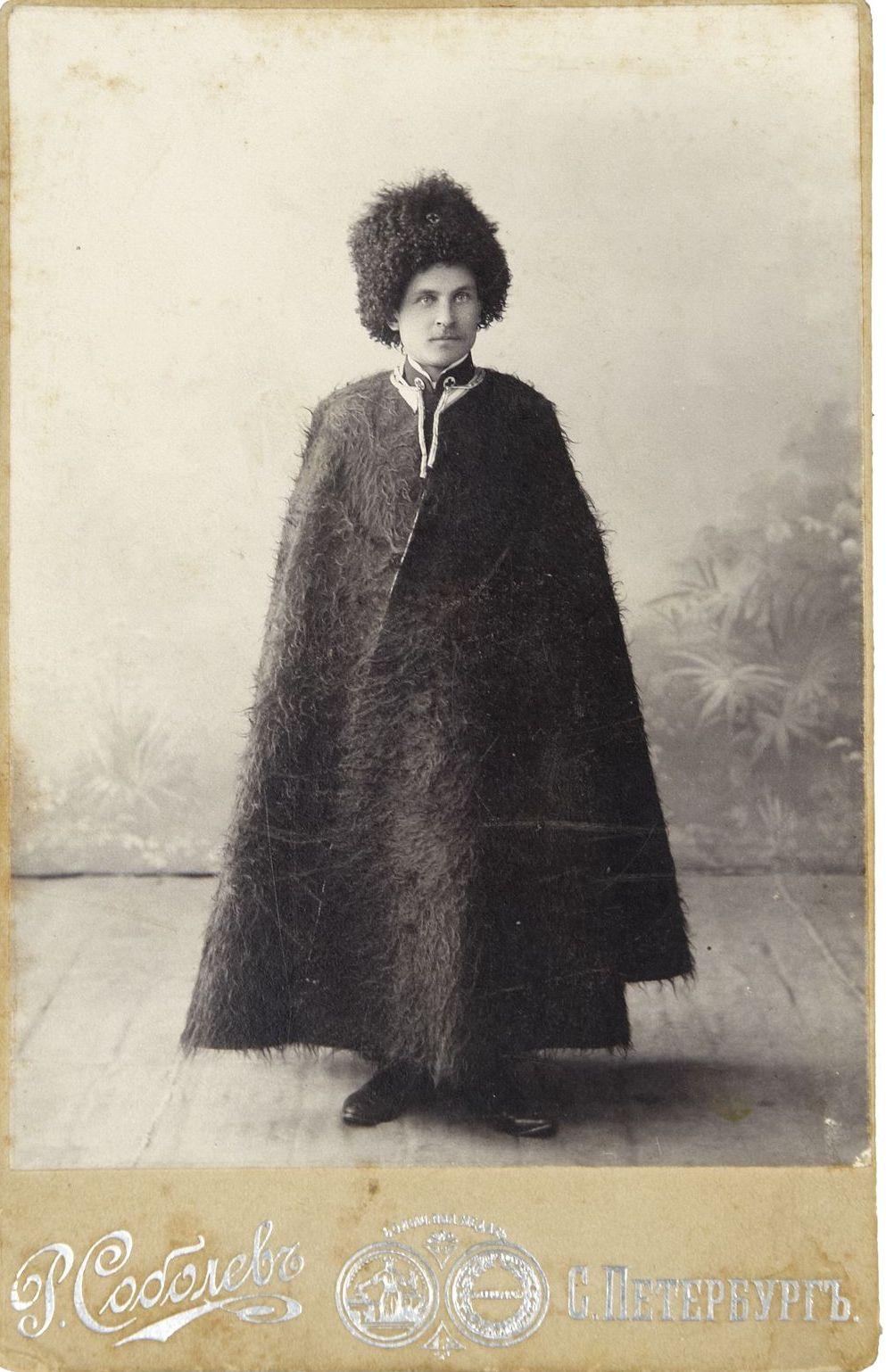 1910-е. Фото служашего подразделений Российского Красного Креста