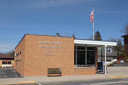 Post Office - Argyle, WI