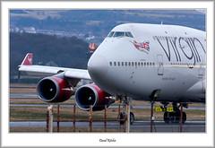 G-VAST Boeing 747 Glasgow