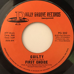 FIRST CHOICE:GUILTY(LABEL SIDE-A)