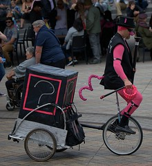 Unicycle Pink Pig