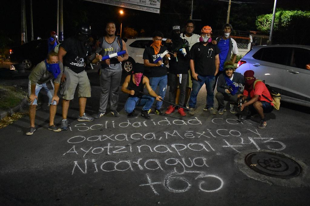 """""""¡Fue el estado!: Apuntes sobre la insurrección popular en Nicaragua"""""""