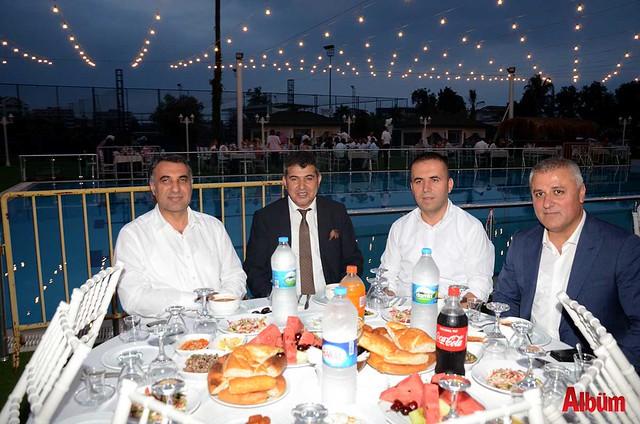 ALDODER İftar Mustafa Harputlu, Seyithan Aladağ, Nazmi Yüksel, Eray Erdem