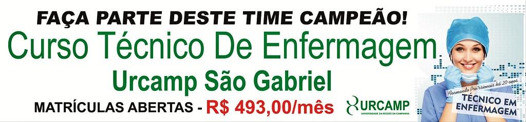 Inscreva-se no Curso Técnico de Enfermagem da Urcamp São Gabriel