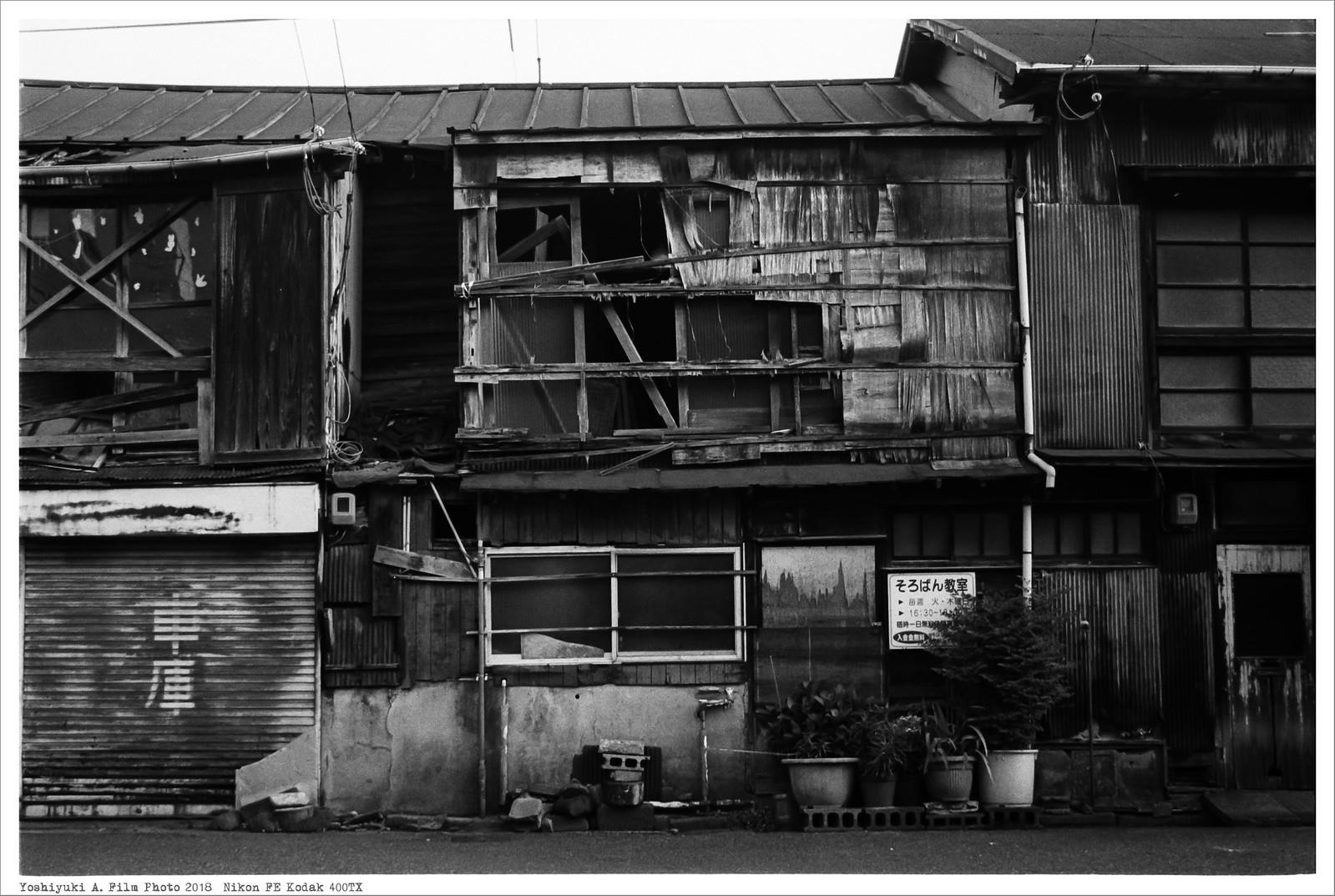 北九州市小倉 到津市場 Nikon_FE_Kodak_400TX__57