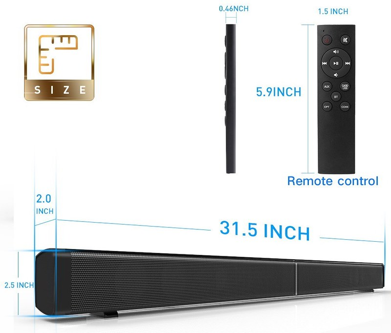 LP-09 Sound Bar Subwoof BT Speaker (10)