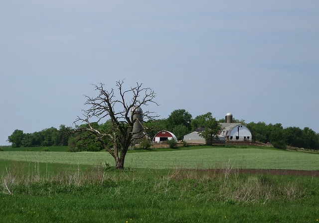Wisconsin farm scene