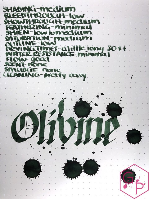 Pelikan Edelstein Olivine Ink Review @AppelboomLaren @Pelikan_World 17