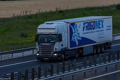 Truck Spotting on the A1/E81 @ Sebes-Romania