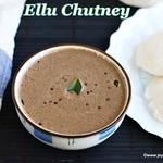 Ellu Chutney recipe