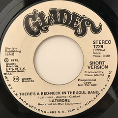 LATIMORE:THERE'S A RED-NECK IN THE SOUL BAND(LABEL SIDE-A)