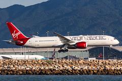 Virgin Atlantic B787-9 DREAMLINER G-VFAN 0031