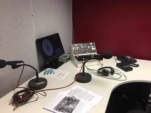 Inside the remote studio