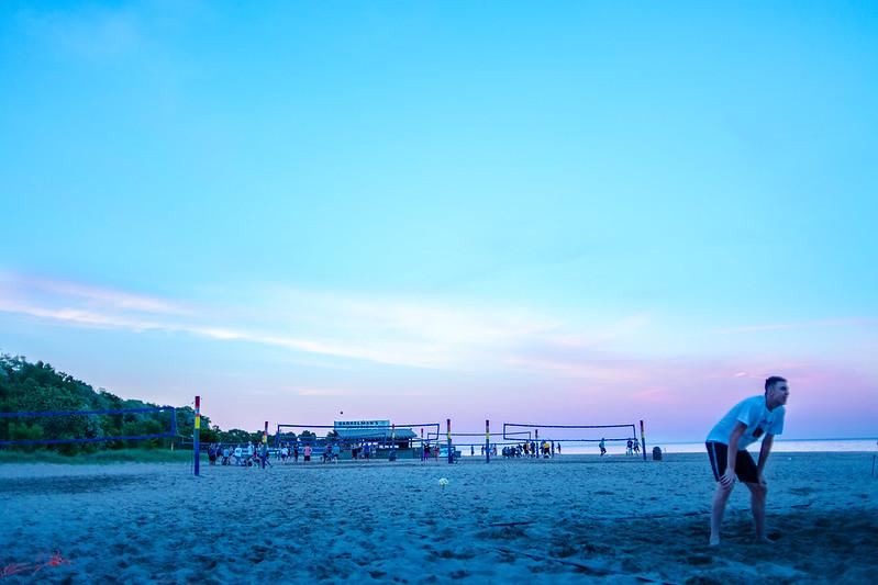 Bradford Beach Sunset