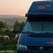 VW T4 Carthago Malibu @ Hadrian's Wall Campsite/UK