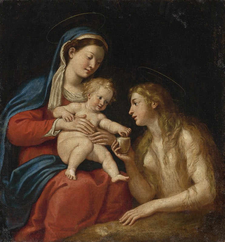 Francesco Albani - Madonna and Child with Mary Magdalene