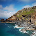 Cornish coastline, Botallack, long exposure