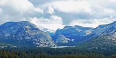 Storm overTenaya Dome and Lake, Yosemite High Country 2015