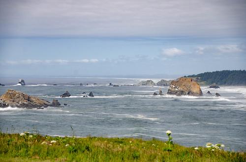 Cape Blanco Coast and Lighthouse-010
