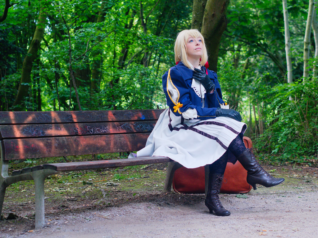 related image - Shooting Violet Evergarden - Enaelle's Arts - Parc Matisse - Lille - 2018-05-27- P1266260