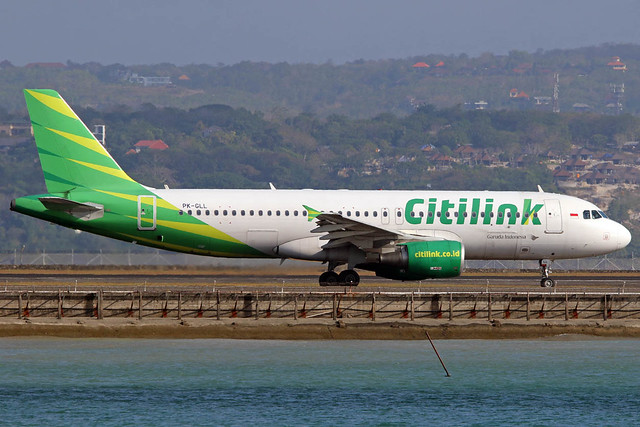 PK-GLL Airbus A320-214 Citilink cn 5379