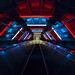 Atomium Neon Escalator by Erroba