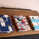 花かんむり 猫スモールノート+豆本カードスタンド