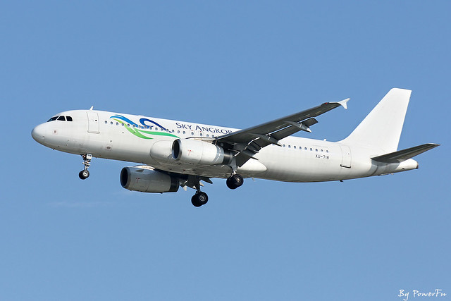 Sky Angkor Airlines | A320-232 | XU-718