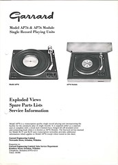 Garrard TechEng Service Manual AP76
