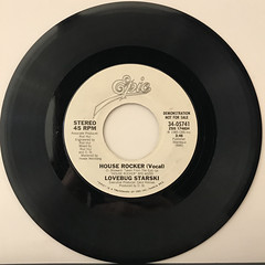 LOVEBUG STARSKI:HOUSE ROCKER(RECORD SIDE-B)