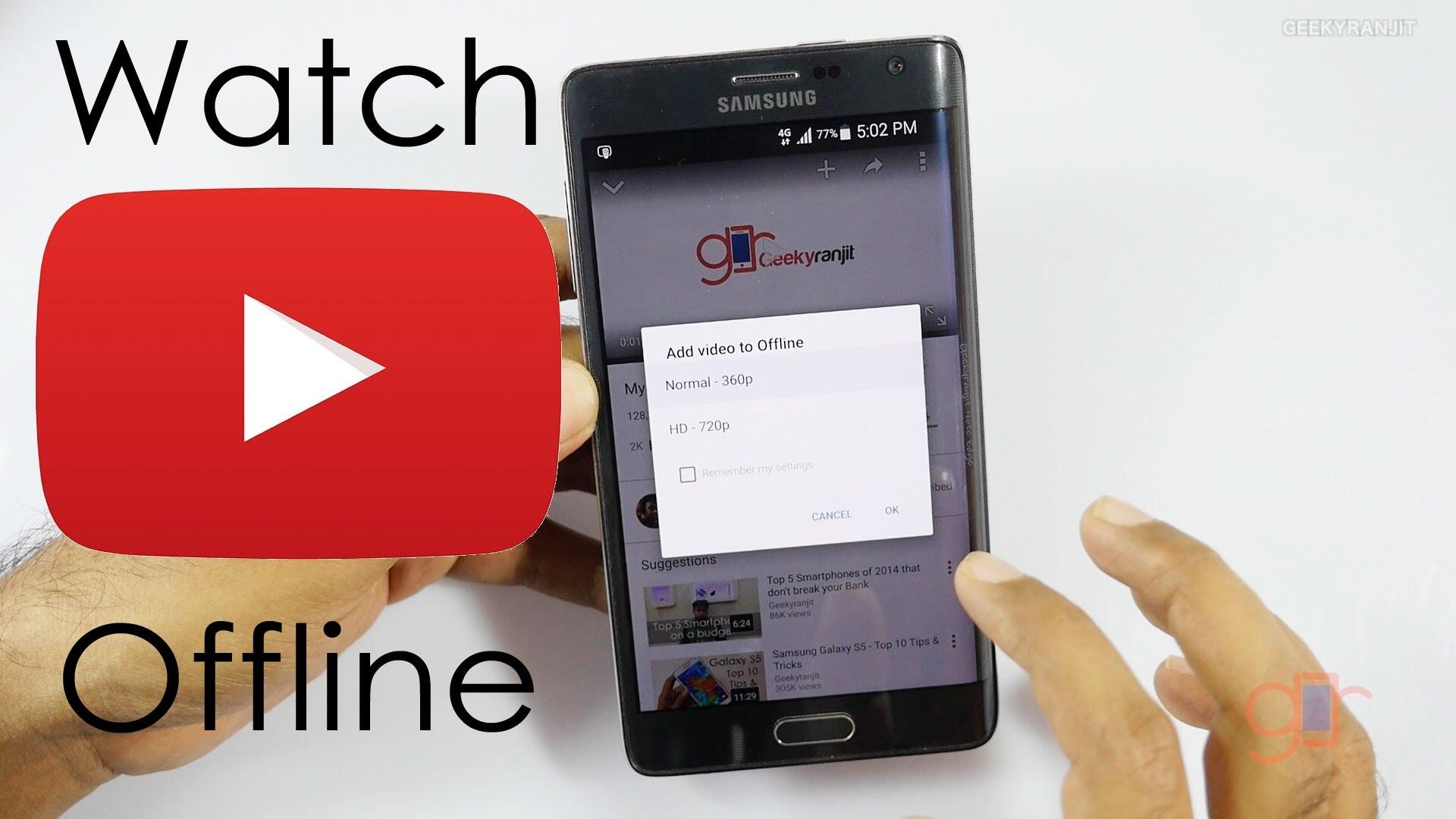 Hướng dẫn xem video youtube khi không có mạng trên iPhone - Cách lưu video Youtube Offline