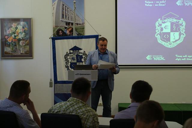Міжнародна студентська олімпіада з інформаційних технологій «IT-Universe» / 09.06.2018