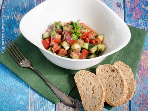 Tomaten-Gurken-Salat (1)