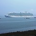 """RP1-6 Royal Caribbean """"Royal Princess"""" & 2 Tugs, South Queensferry by timonrose1"""