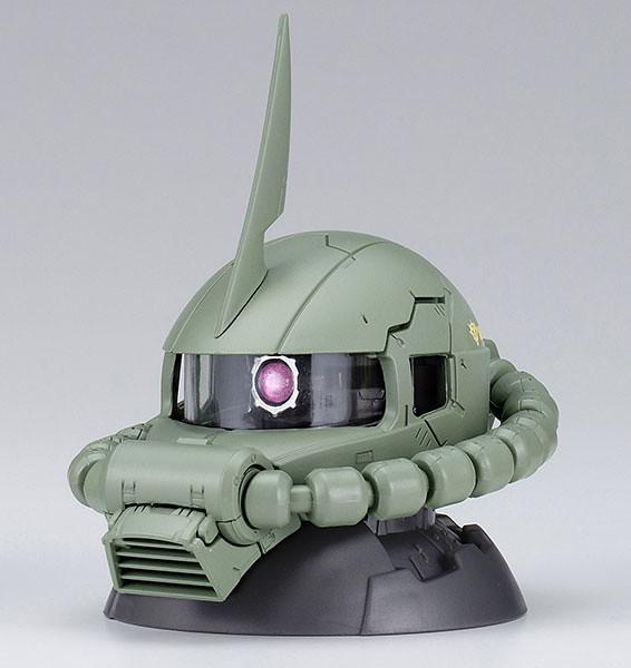 《機動戰士鋼彈 》EXCEED MODEL 薩克頭像 第五彈「盒裝版本」好評登場!機動戦士ガンダム EXCEED MODEL ZAKU HEAD 5 9個入りBOX