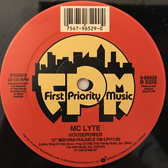 MC LYTE:CHA CHA CHA(LABEL SIDE-B)