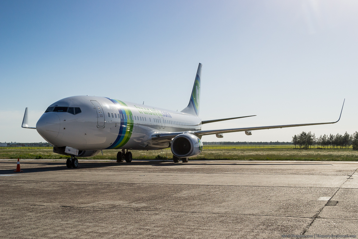 Boeing 737-800 F-GZHM авиакомпании Transavia France