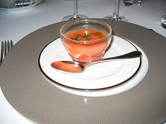 CHATEAU D'ETOGES, MENU GOURMANDE, GAZPACHO 002 - Photo of Beaunay
