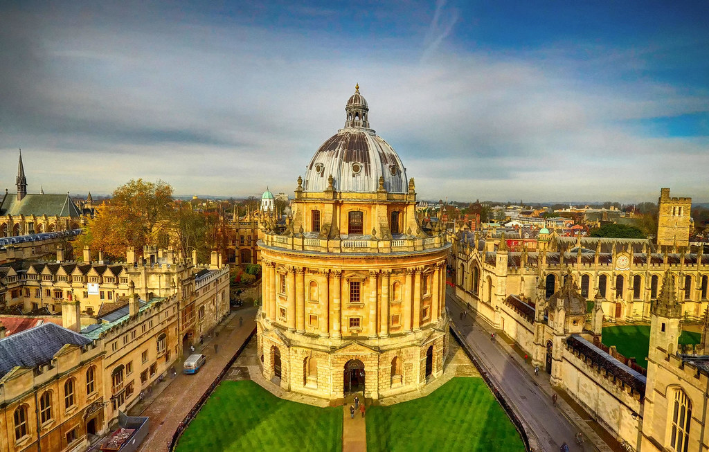 The Radcliffe Camera, Oxford. Credit Baz Richardson, flickr