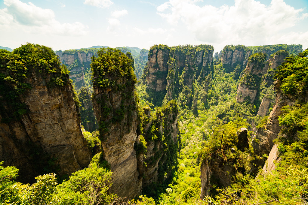 Avatar mountain - Zhangjiajie